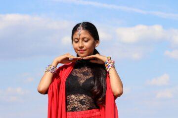 girl, indian, dance