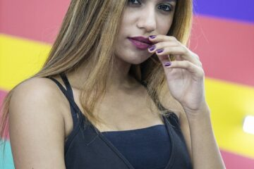 indian, model, female