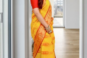 woman, indian saree, model
